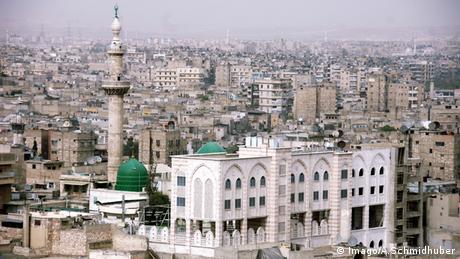 Aleppo Syrien Stadtübersicht