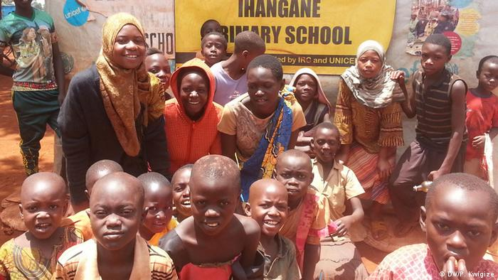 Flüchtlingscamp Nyarugusu Tansania