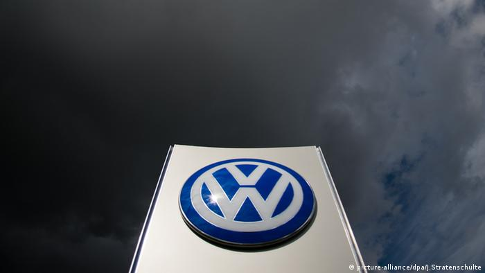 Dark clouds loom large over the VW headquarters in Wolfsburg, Germany