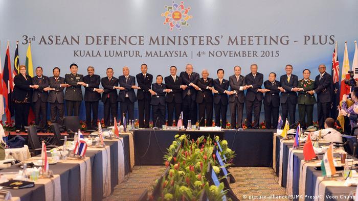 Malaysia ASEAN Treffen der Verteidungsminister