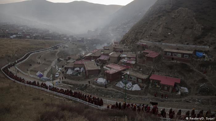 Tibet Buddhistisches Lehrinstitut Larung Wuming (Reuters/D. Sagol)