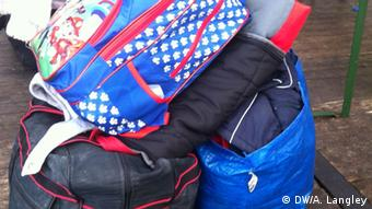 duffle bags copyright: Alison Langley