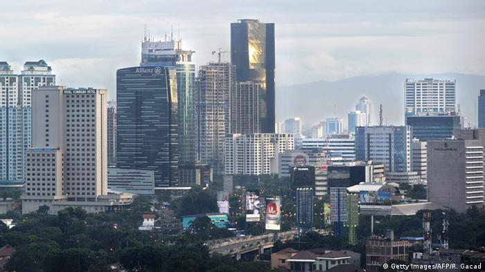 Skyline Jakarta (Getty Images/AFP/R. Gacad)