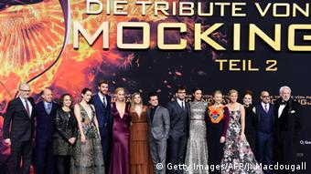 Die Tribute von Panem Mockingjay Teil 2 Filmpremiere Berlin (Foto: AFP PHOTO / JOHN MACDOUGALL)