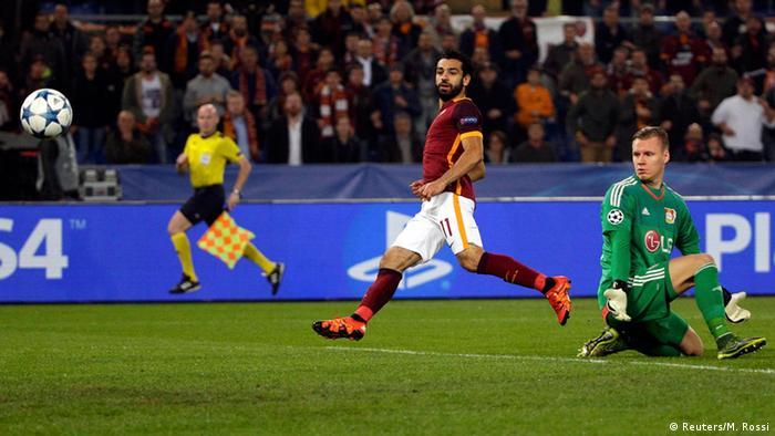UEFA Champions League Leverkusen vs AS Rom (Reuters/M. Rossi)