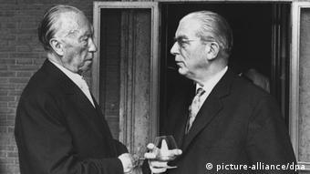 Аденауэр и Глобке, 1963 год