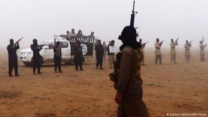 IS-Kämpfer im Irak - Foto: AP