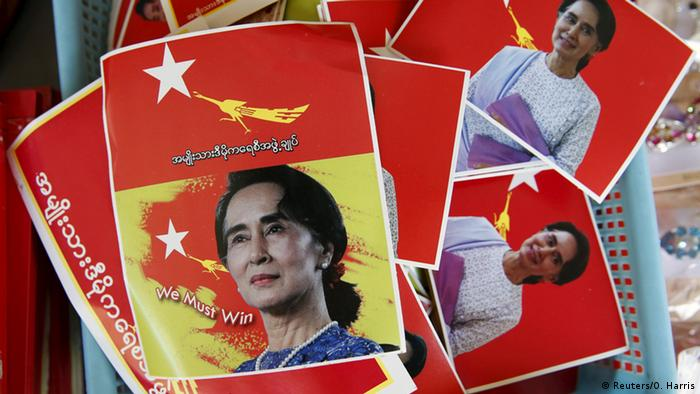 Myanmar Parlamentswahl (Reuters/O. Harris)