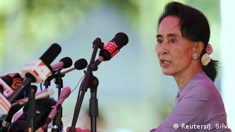 Parlamentswahl in Myanmar: Aung San Suu Kyi