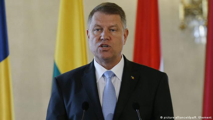Klaus Iohannis (picture-alliance/dpa/R. Ghement)