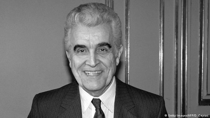 Archive portrait of Rene Girard