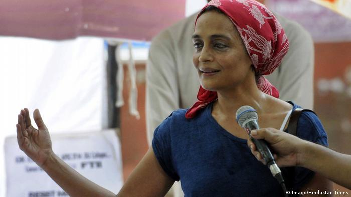 Author Arundhati Roy, Copyright: Imago/Hindustan Times