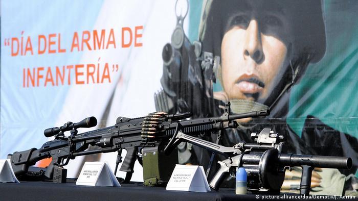 Mexiko Waffen von Heckler & Koch