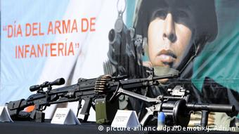 H&K's rifles have been used in states where German firms are not allowed to export