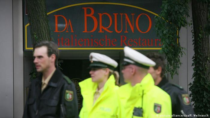 Duisburg, restoran Da Bruno
