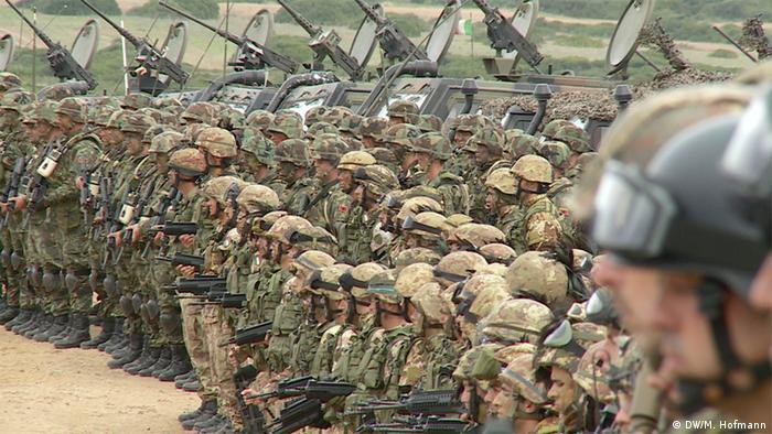 Italien NATO Übung Trident Juncture auf Sardinien