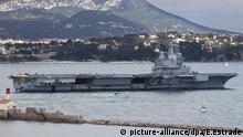 Charles de Gaulle Flugzeugträger Frankreich