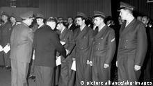 Bonn Ernennungszeremonie der ersten 101 Bundeswehr Soldaten