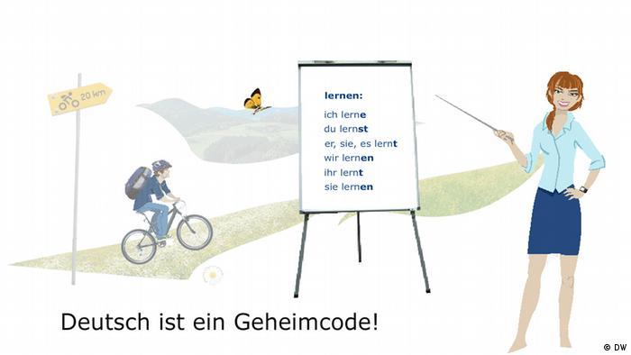 9. Deutsch ist keine Sprache, Deutsch ist ein Geheimcode! German is easy? Ha, German isn't a language, German is a secret code!