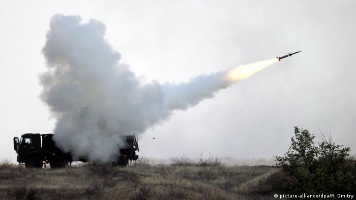 Russian Pantsir-S1 surface-to-air missile