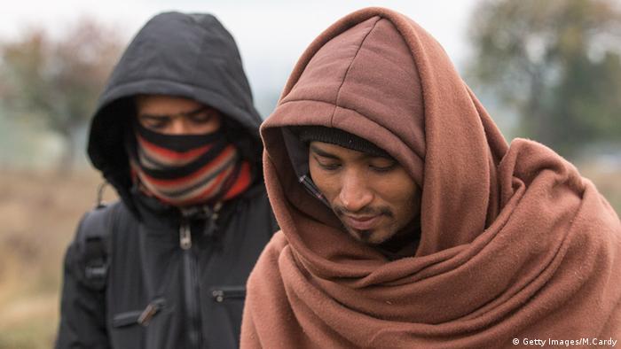 Serbien Grenze Mazedonien Flüchtlinge Pakistan