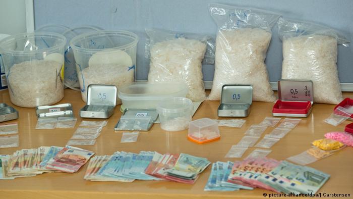 Crystal Meth Droge Beschlagnahmung Polizei Berlin