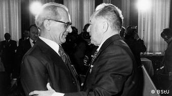 Эрих Хонеккер и Эрих Мильке
