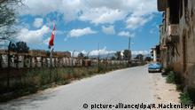 Grenze Zypern Nikosia Green Line griechisch türkisch