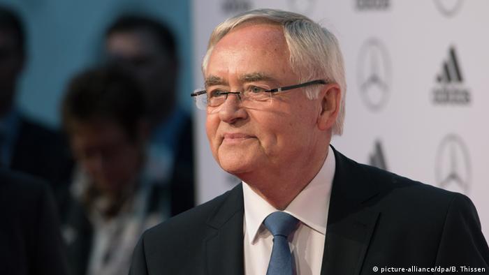 Horst R. Schmidt, ex secretario general de la Federación Alemana de Fútbol (DFB).