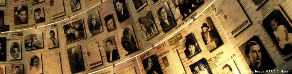 Themenheader Holocaust Gedenkstätte Yad Vashem