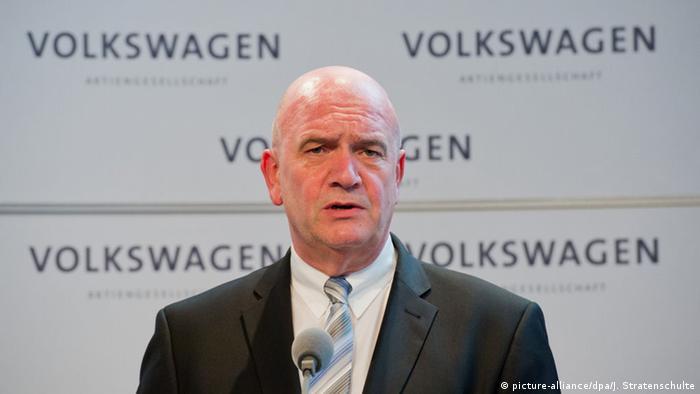 VW Betriebsratschef Bernd Osterloh