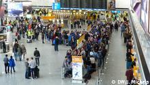 Deutschland Frankfurt am Main Streik Lufthansa