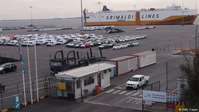 Portugal Setubal port, VW Export