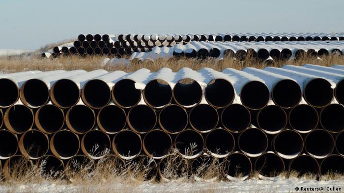 USA geplante Pipeline Keystone (Reuters/A. Cullen)