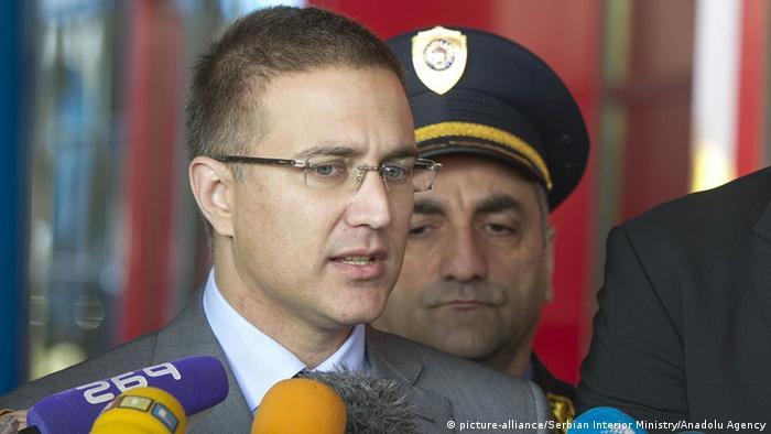 Міністр внутрішніх справ Сербії Небойша Стефанович