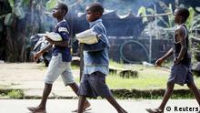 Nigerdelta - Schüler