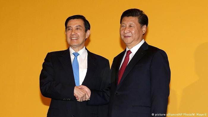 Taiwan Singapur Treffen Ma Ying-jeou und Xi Jinping