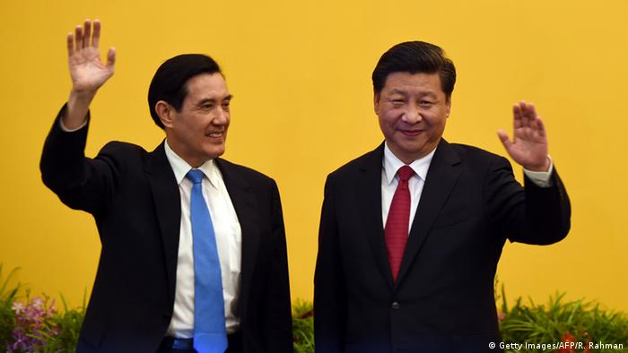 Ma Ying-jeou und Xi Jinping
