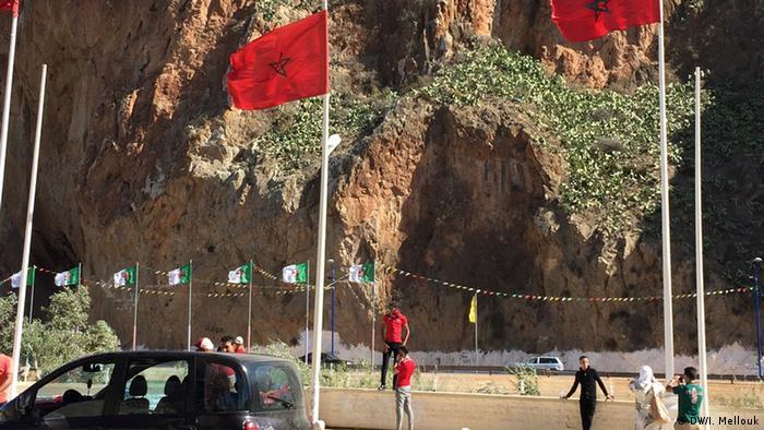 Marokko Ahfir Bin Lajraf Grenze Algerien (DW/I. Mellouk)