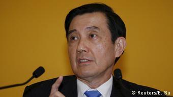 Taiwan Singapur Pressekonferenz Ma Ying-jeou