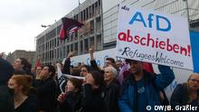 Demonstration gegen AfD