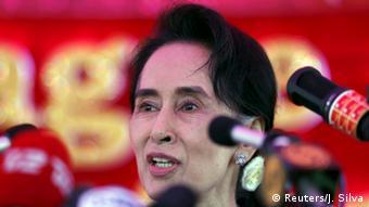 Myanmar Parlamentswahl Aung San Suu Kyi