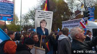 تظاهرات حزب راستگرا و پوپولیست در برلین