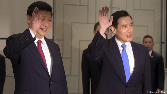 Taiwan China Treffen Ma Ying-jeou und Xi Jinping in Singapur (Reuters/J. Nair)