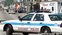 A police car in Chicago