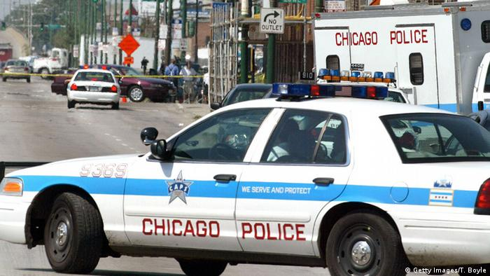 Chicago police vehicle