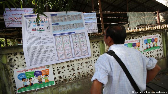 Myanmar Parlamentswahl