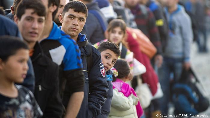 Balkan Flüchtlinge