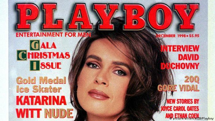На обложке Playboy