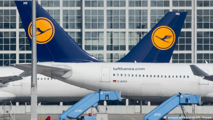 Lufthansa planes at Munich Airport (Photo: dpa)